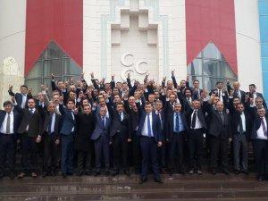 MHP KAYSERİ ANKARA'YA ÇIKARMA YAPTI
