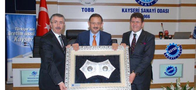 Kayso Başkanı Boydak ve Sanayicilerden Mehmet Özhaseki'ye Teşekkür