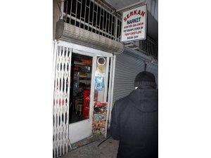 KAYSERİ'DE MARKET SOYGUNU