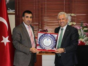 Kayseri Serbest Muhasebeciler'de Devir Teslim töreni