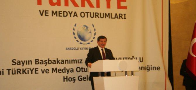 Başbakan Anadolu medyası ile buluştu