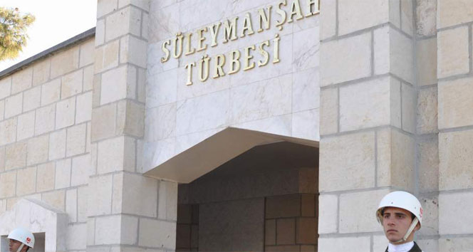 TSK'dan Süleyman Şah Türbesi'ne operasyon