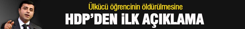 Selahattin Demirtaş'tan Fırat Çakıroğlu açıklaması