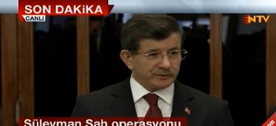 Davutoğlu; Türk silahlı kuvvetleri her engeli aşar