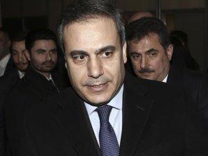 Fidan, AK Parti Ankara İl Başkanlığı'nı ziyaret etti