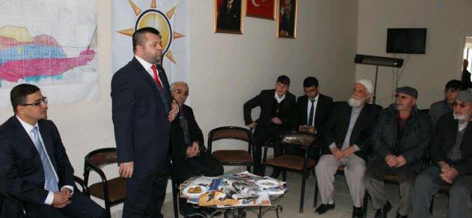 Ak Parti aday adayı Avukat Seyit Halil Yüzgeç