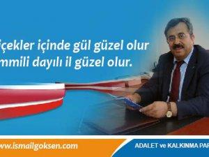 AK Parti,  milletvekili aday adayı doktor İsmail Gökşen: