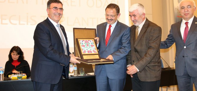 ÖZHASEKİ TİCARET ODASI'NDA
