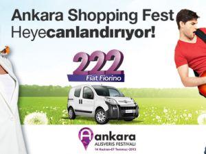 ANKARA SHOPPING FEST 2013 İLE TÜM ŞEHİR CANLANIYOR!