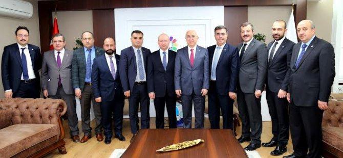 """Çolakbayrakdar,""""Kayseri'yi Uluslararası Marka Yapmalıyız"""""""