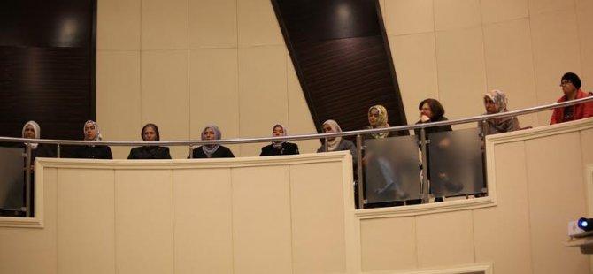 Kocasinan Meclis Toplatısını Yemliha'dan gelen hanımlar izledi