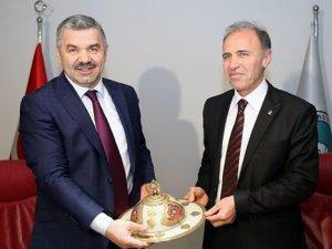 Kocasinan İlçe Başkanı  Muammer Kılıç Büyükşehir'de