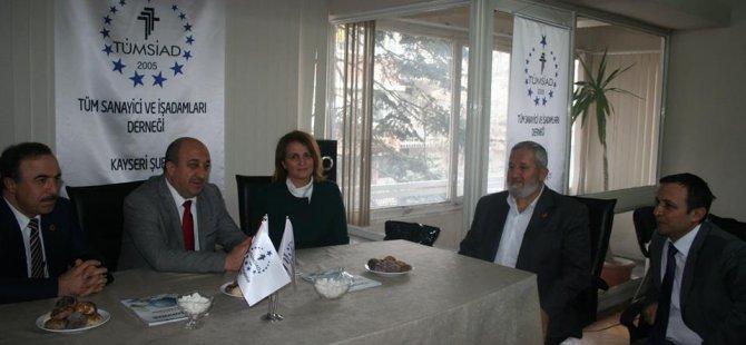 Ak Parti A. Adayı Havva Talay Çalış'tan Tümsiad'a Ziyaret
