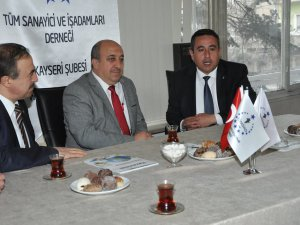 Ak Parti A. Adayı Mustafa Ağca'dan Tümsiad'a Ziyaret
