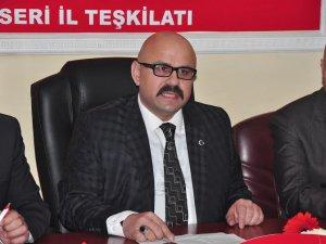 MHP İl Başkan Yardımcısı Çevikel AKP'lileri pişmaniye gibi dağıtacağız