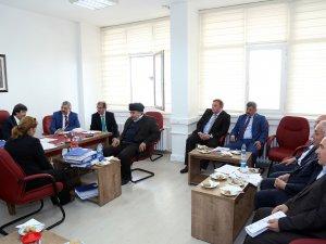 Başkan Çelik, MHP'li meclis üyeleriyle