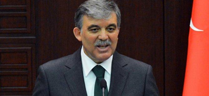 Abdullah Gül adaylık kararını verdi