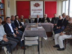 AK PARTİ MİLLETVEKİLİ ADAY ADAYI ÜNSAL'DAN MAZLUM-DER'E ZİYARET