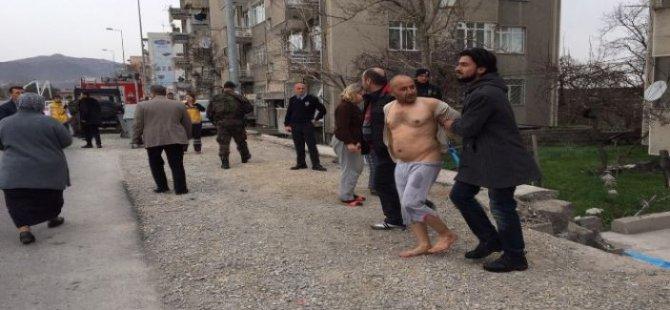 KAYSERİ'DE ŞİZOFREN ŞAHSA ÖZEL HAREKATLI OPERASYON