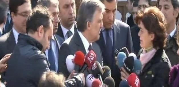 Abdullah Gül'ü kızdıran soru - VİDEO