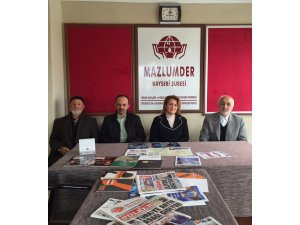 HAVVA TALAY ÇALIŞ MAZLUM-DER'İ ZİYARET ETTİ