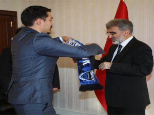 Bakan Yıldız Kayseri Erciyesspor Yönetim Kurulunu Kabul Etti