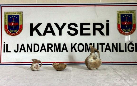 Kayseri'de Define Avcılarına Operasyon