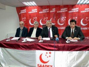 KAYSERİ SAADET PARTİSİ DİVAN KURULU TOPLANTISI