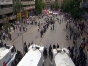 Ankara'da İş Bırakma Eylemi