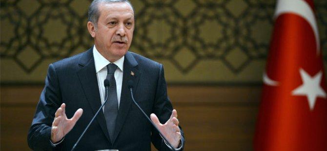 Cumhurbaşkanı Erdoğan Muhtarlarla Bir araya geldi