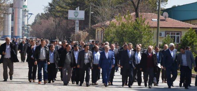 Kayseri Şeker Çiftçi Meclisi  Sonuç bildirisi yayınladı
