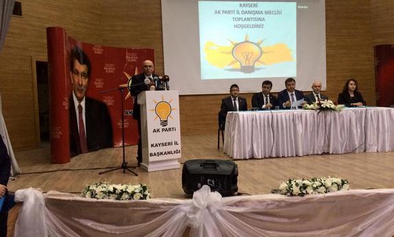 Ak Parti İl Başkanı Özden'den Aday Adaylarına Mesaj