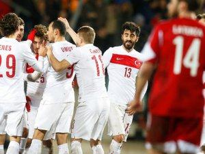 Milli Futbol Takımı, hazırlık maçında Lüksemburg'u 2-1 mağlup etti
