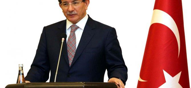 Başbakan Davutoğlu  Şuan omuz omuza verme vaktidir
