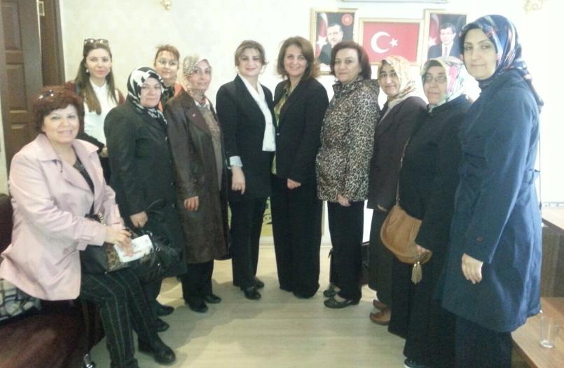 Ak Parti Kayseri A.Adayı H. Talay Çalış'tan Kadın Kollarına Ziyaret