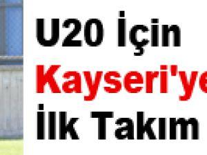 U20 İçin Kayseri'ye Gelen İlk Takım G.Kore