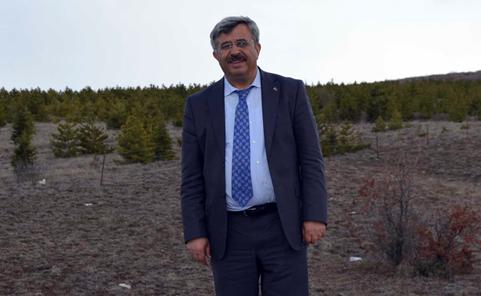 Dr. İsmail Gökşen: Haydi Kayseri!  Çölleşmeye Karşı Fidan Dikelim!