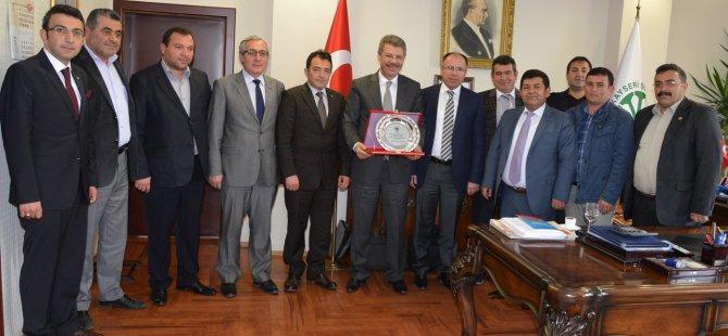 Esnaf ve Ziraat Oda Başkanları Kayseri Şeker'de