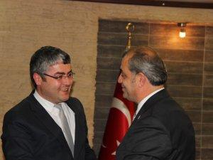 Melikgazi İlçe Başkanı Kadıoğlu'dan MMO'NA  Ziyaret
