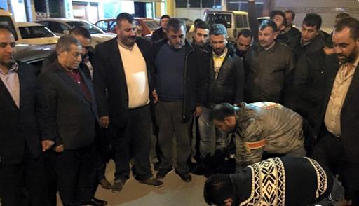 Kilci, Ankara dönüşü evinin önünde coşkuyla karşılandı