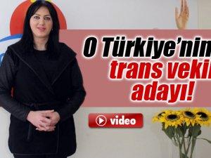 Türkiye'nin ilk trans adayı