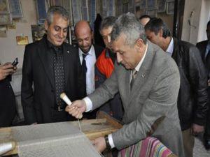 MHP Büyükşehir Adayı Özsoy, İlçe Ziyaretlerine Felâhiye ile Devam Etti
