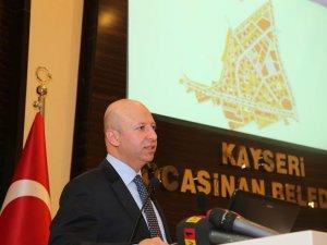 Çolakbayrakdar,'Yeni Kayseri'yi Kocasinan'da Kuracağız'