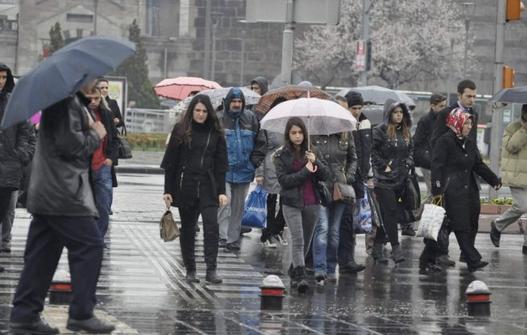 Uyarması Bizden Önlem Alması Sizden! Yağışlar Pazar Gününe..''