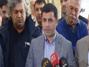 Demirtaş'tan Ağrı'daki saldırı açıklaması