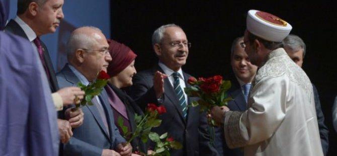 Kılıçdaroğlu ile Başbakan arasında yaşan gül jesti