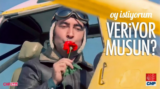 CHP'den film afişli seçim kampanyası