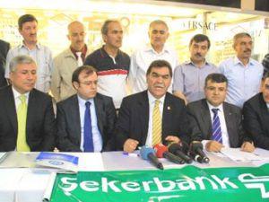 """ŞEKERBANK KAYSERİ ESNAFINA KAPISINI AÇTI """"HER AYIN 15'İNDE ESNAFA GİDİN"""""""