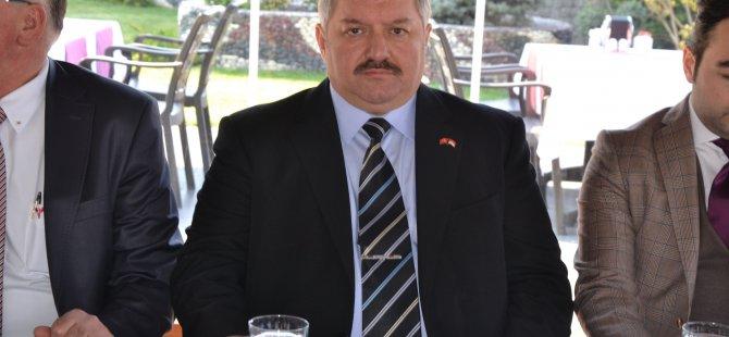 KAYSERİ OSB'YE TAZE KAN TAHİR NURSAÇAN