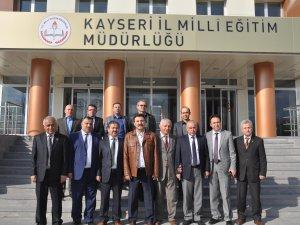 TOKAT İL MİLLİ EĞİTİM YETKİLİLERİ KAYSERİ'DE